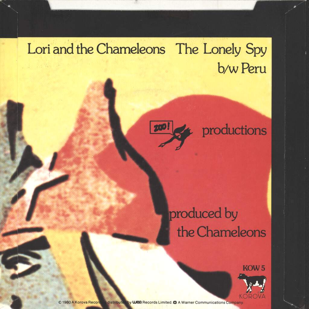 "Lori & The Chameleons: The Lonely Spy, 7"" Single (Vinyl)"