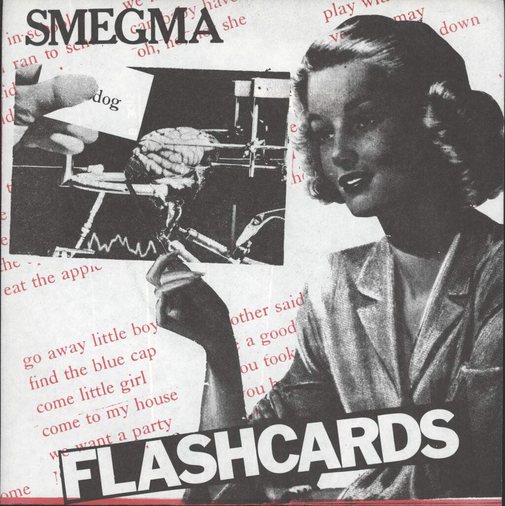 "Smegma (US): Flashcards, 7"" Single (Vinyl)"