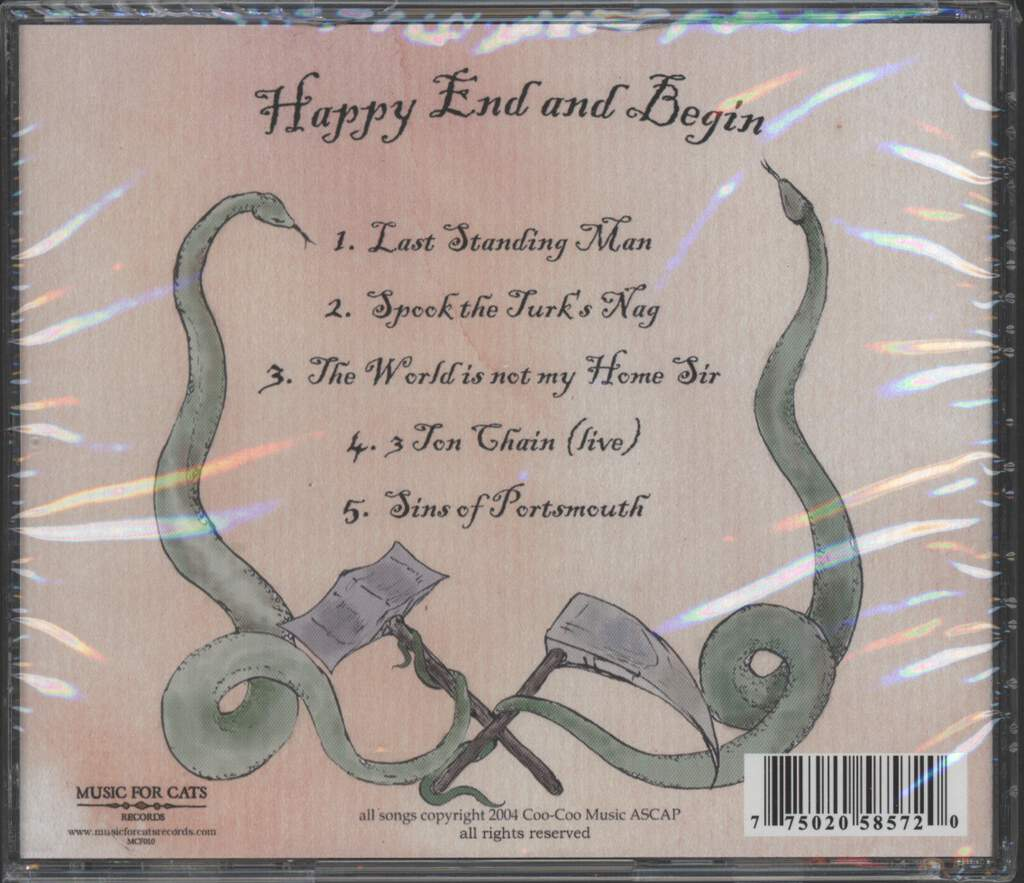 Reverend Glasseye: Happy End And Begin, Mini CD