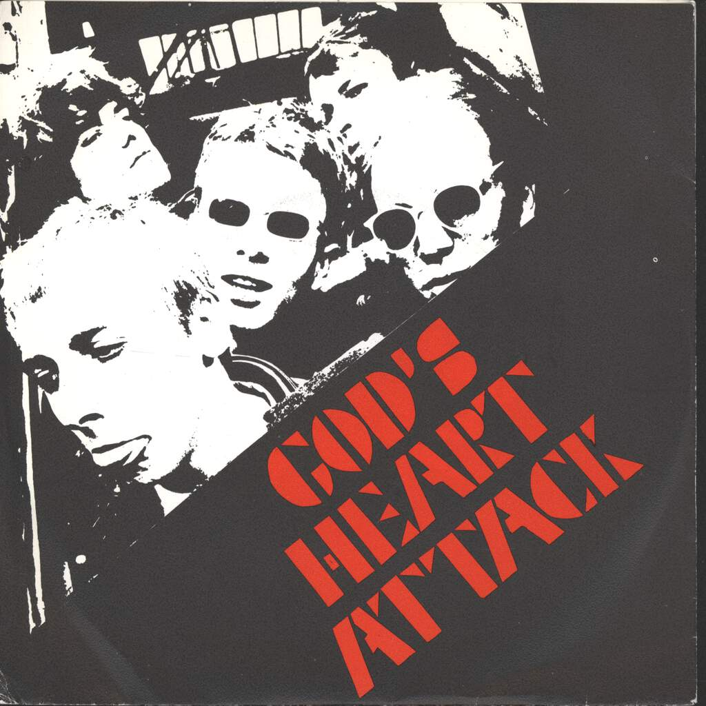 "God's Heart Attack: Treat Me Like A Doll, 7"" Single (Vinyl)"
