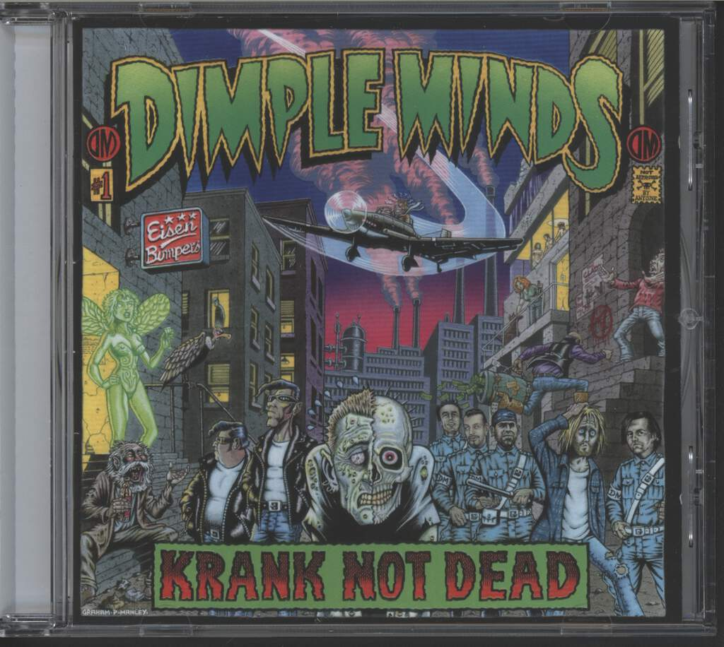 Dimple Minds: Krank Not Dead, CD