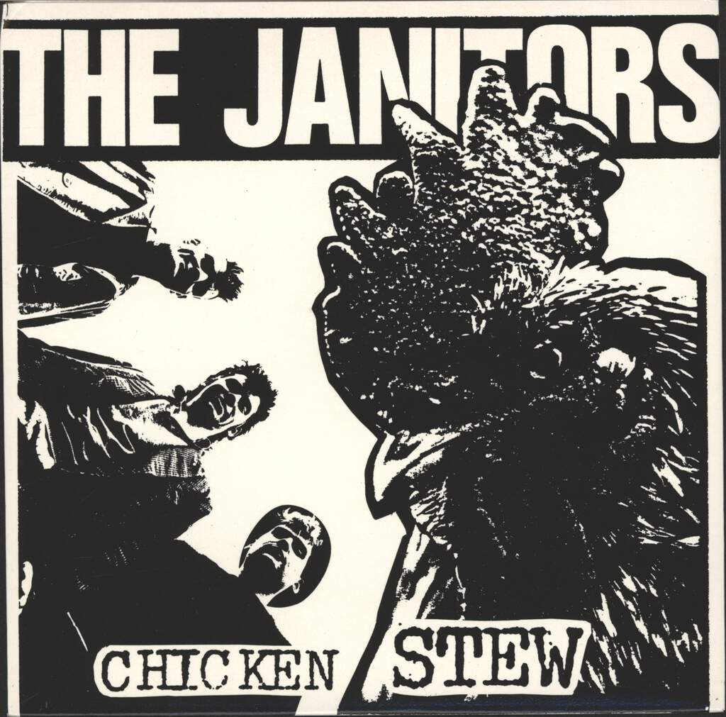 "Janitors: Chicken Stew / The Devil's Gone To Whitley Bay, 7"" Single (Vinyl)"