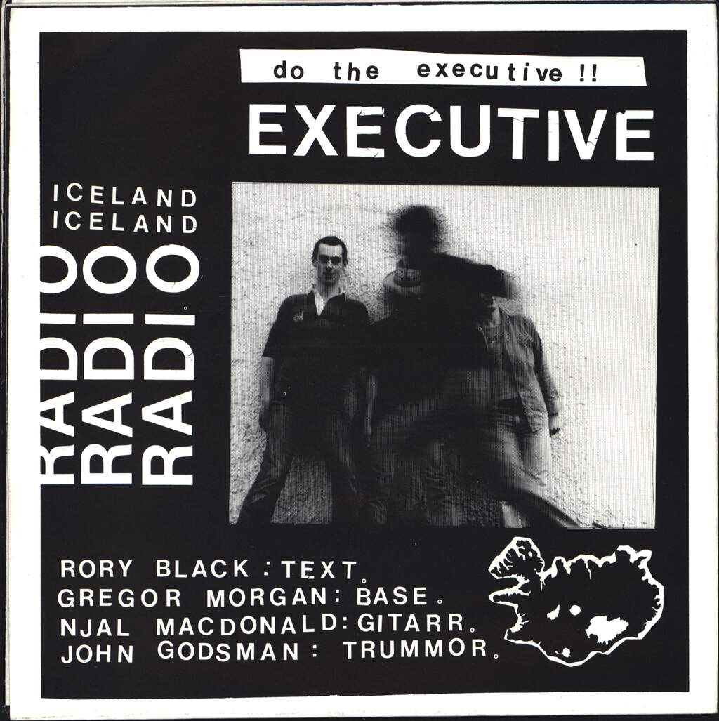 "Those Intrinsic Intellectuals: Radio Iceland / Do The Executive, 7"" Single (Vinyl)"