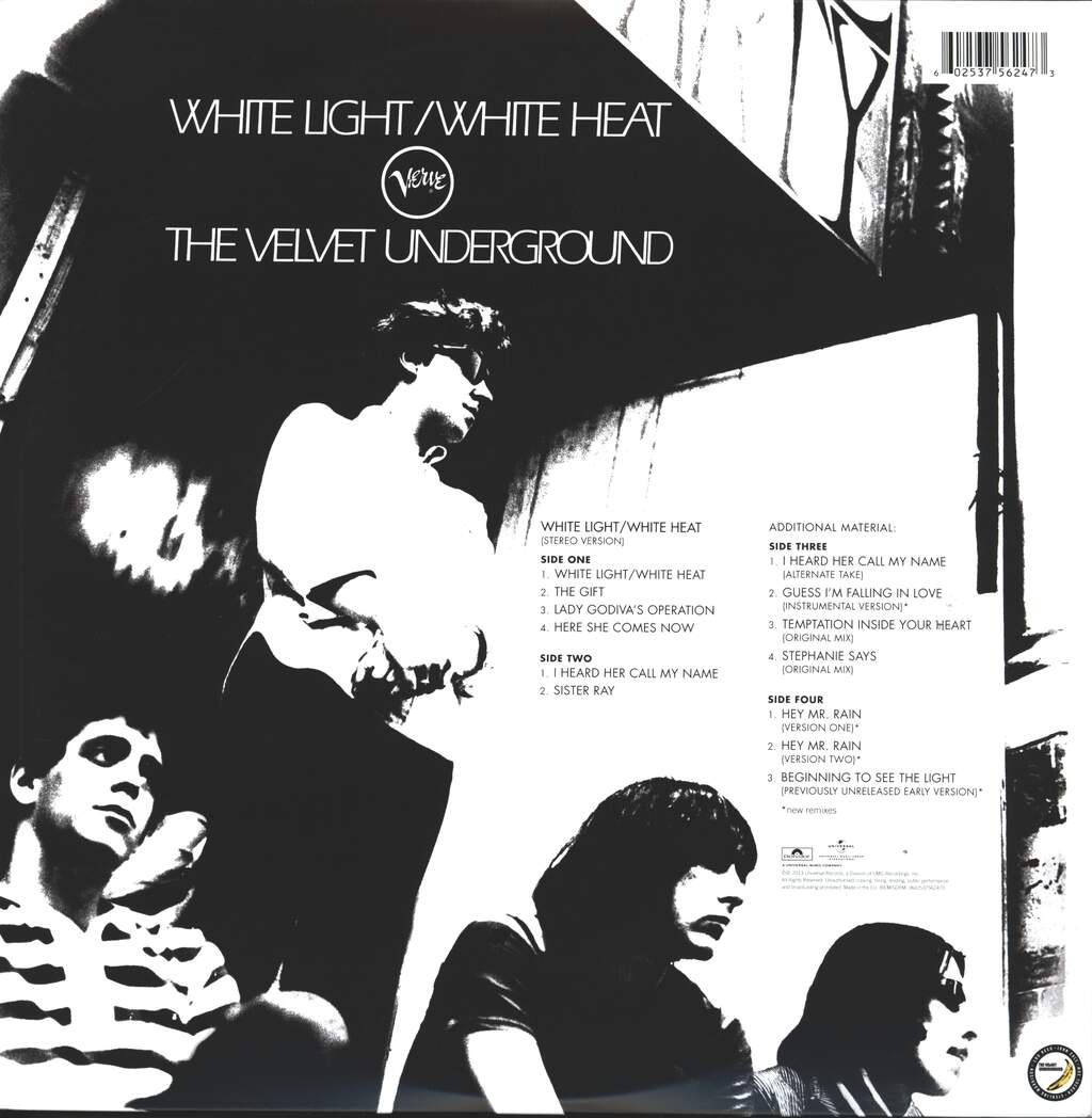 Velvet Underground: White Light / White Heat, 2×LP (Vinyl)