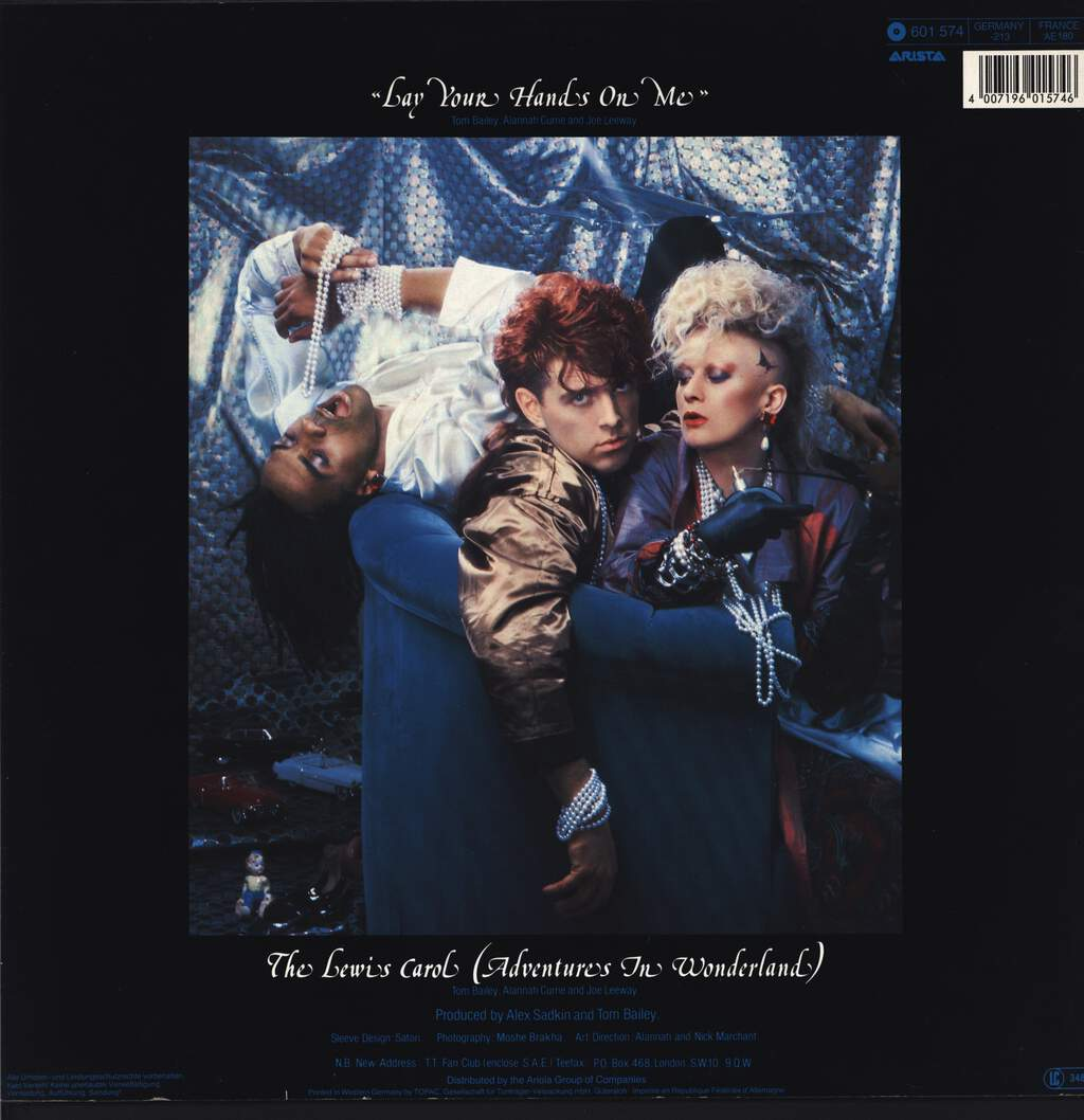 "Thompson Twins: Lay Your Hands On Me, 12"" Maxi Single (Vinyl)"