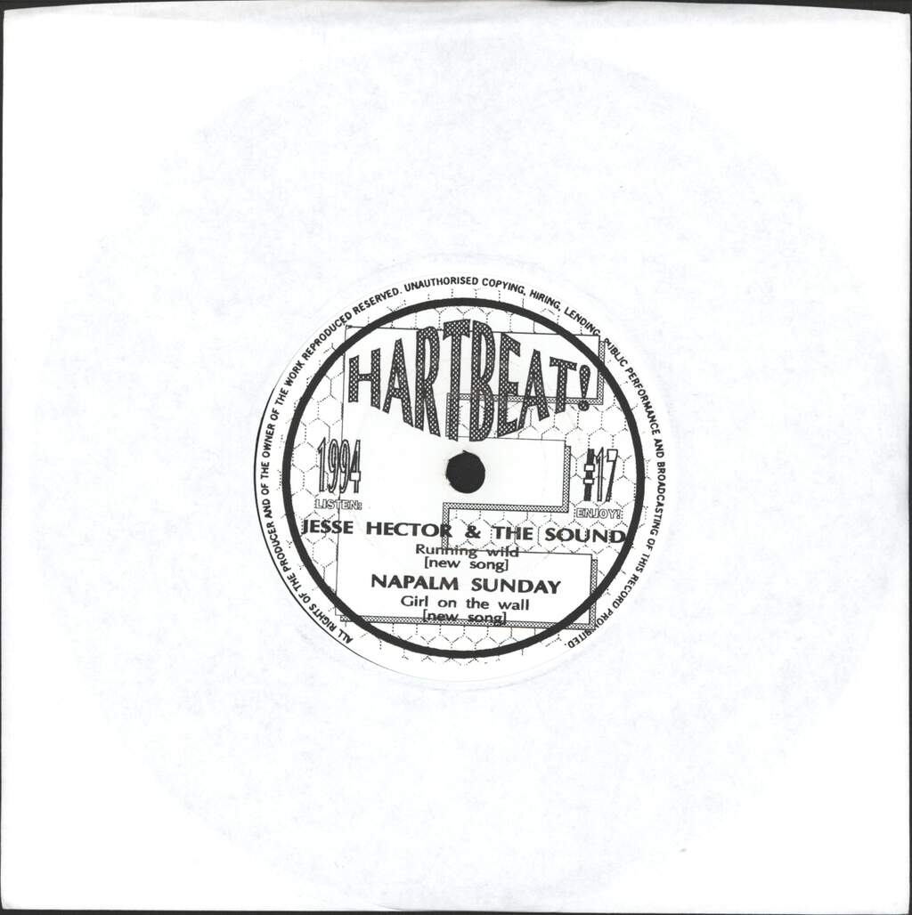 "Various: Hartbeat! #17, 7"" Single (Vinyl)"