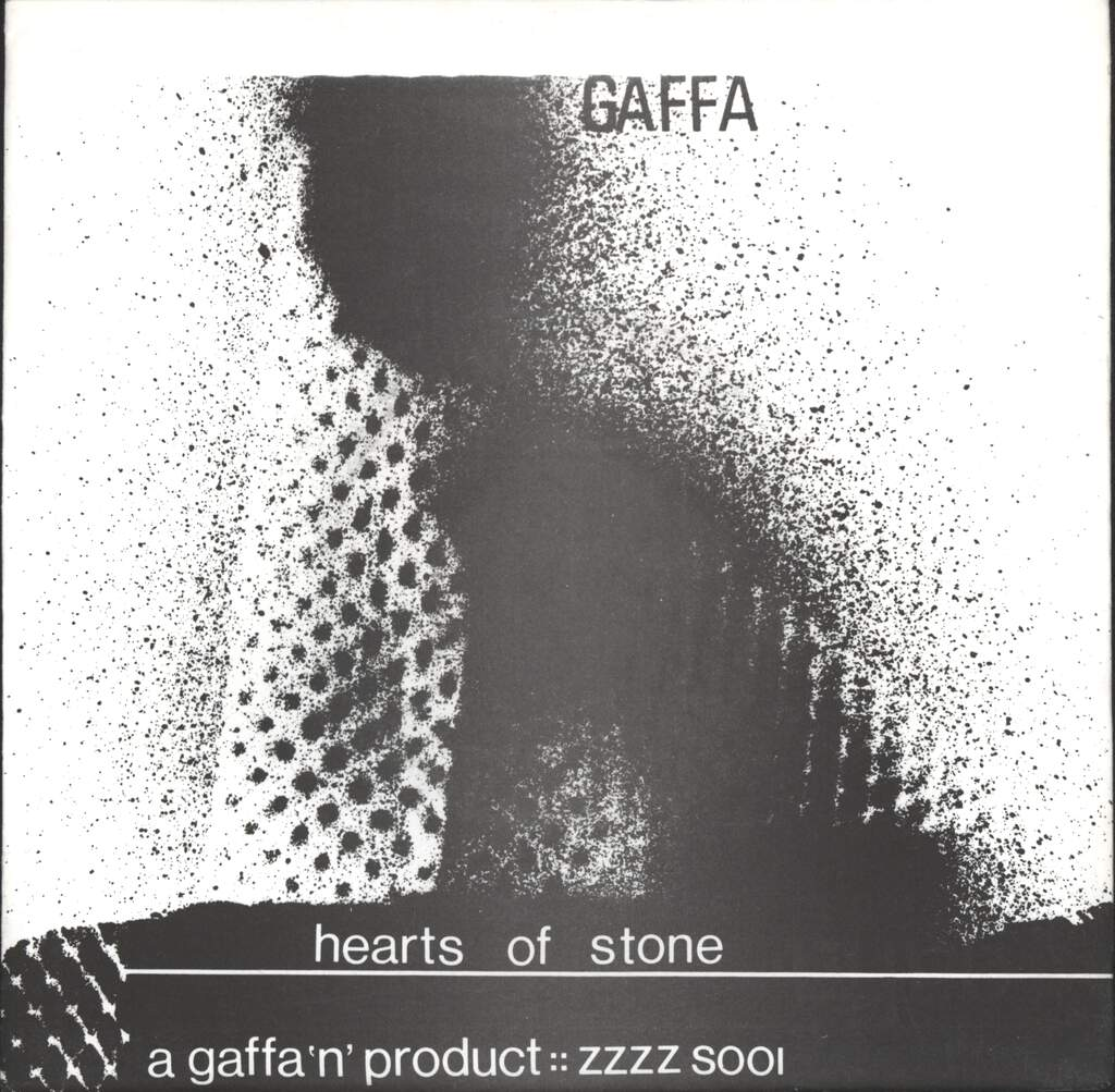 "Gaffa: Hearts Of Stone, 7"" Single (Vinyl)"