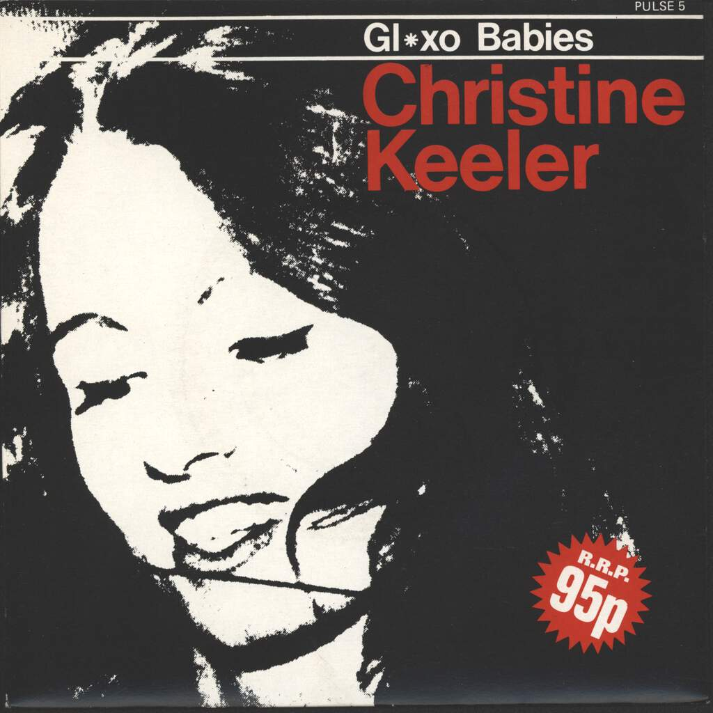 "Glaxo Babies: Christine Keeler, 7"" Single (Vinyl)"