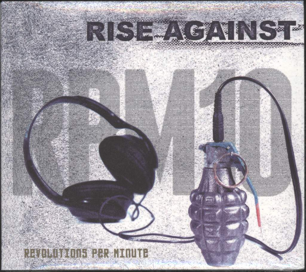 Rise Against: RPM10 Revolutions Per Minute, CD