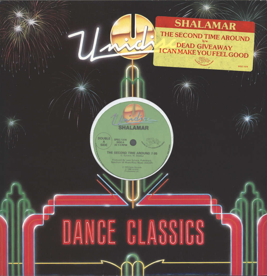 "Shalamar: The Second Time Around / Dead Giveaway / I Can Make You Feel Good, 12"" Maxi Single (Vinyl)"