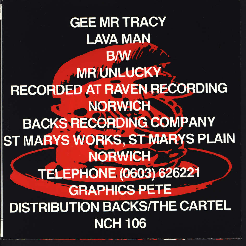 "Gee Mr Tracy: Lava Man!, 7"" Single (Vinyl)"