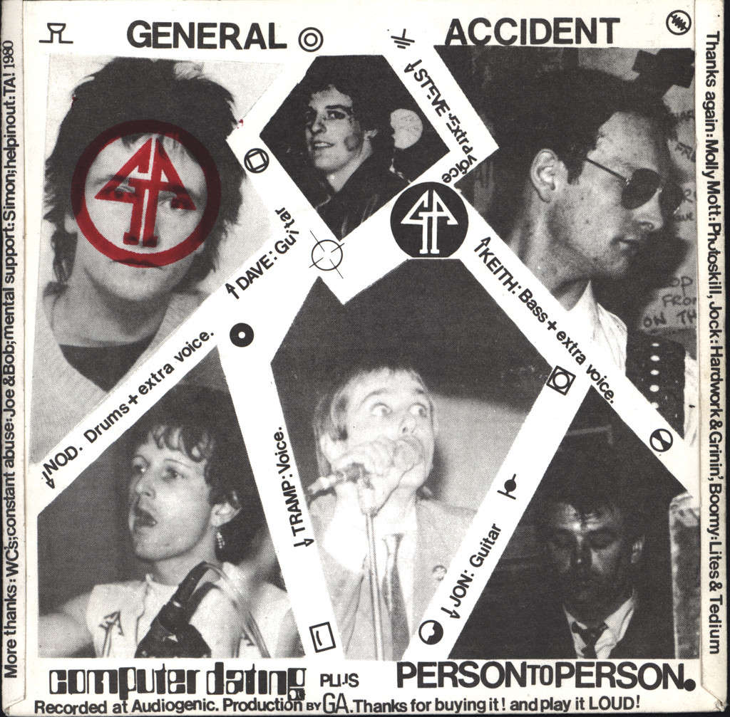 "General Accident: Computer Dating, 7"" Single (Vinyl)"