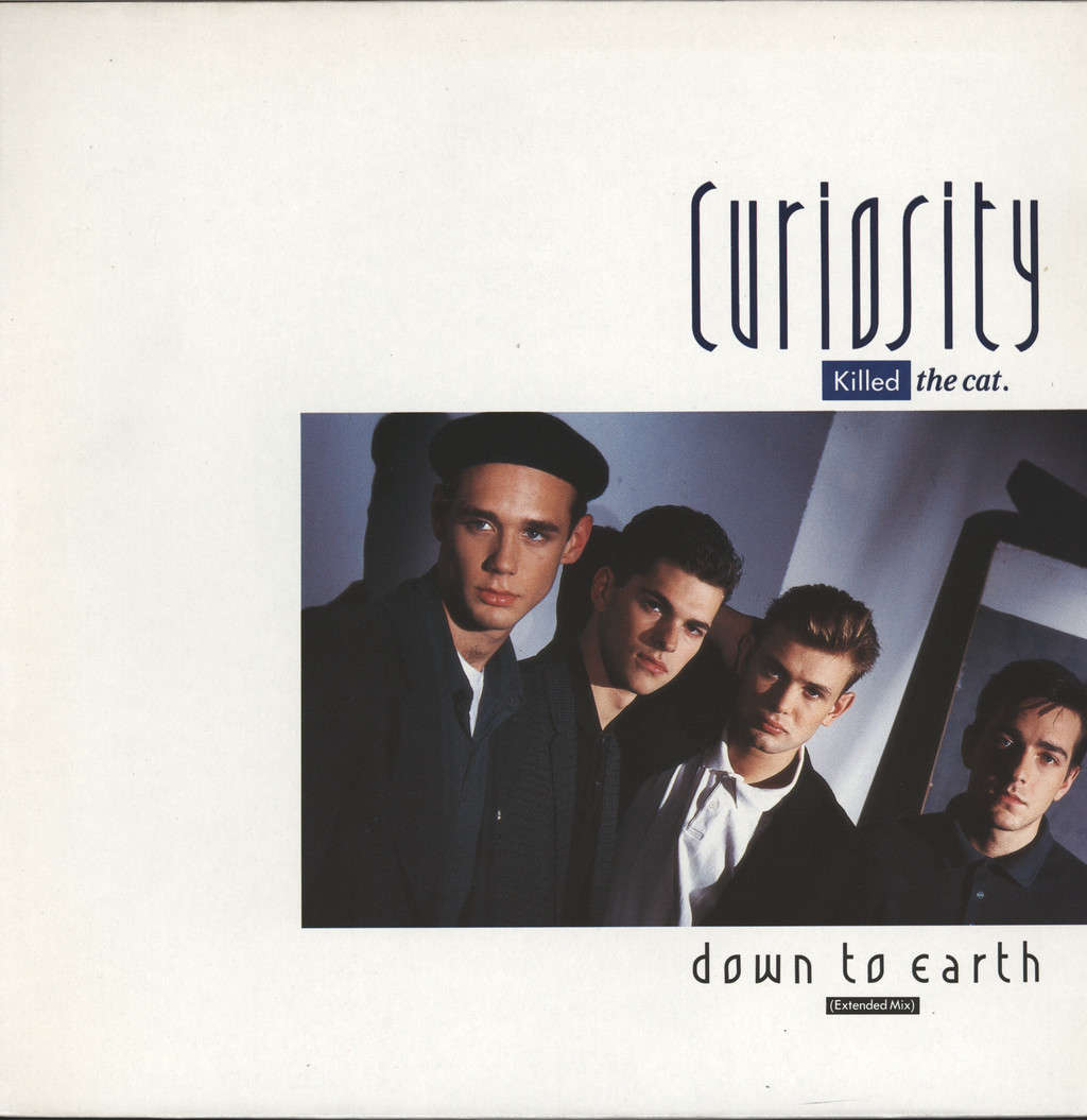 "Curiosity Killed The Cat: Down To Earth, 12"" Maxi Single (Vinyl)"