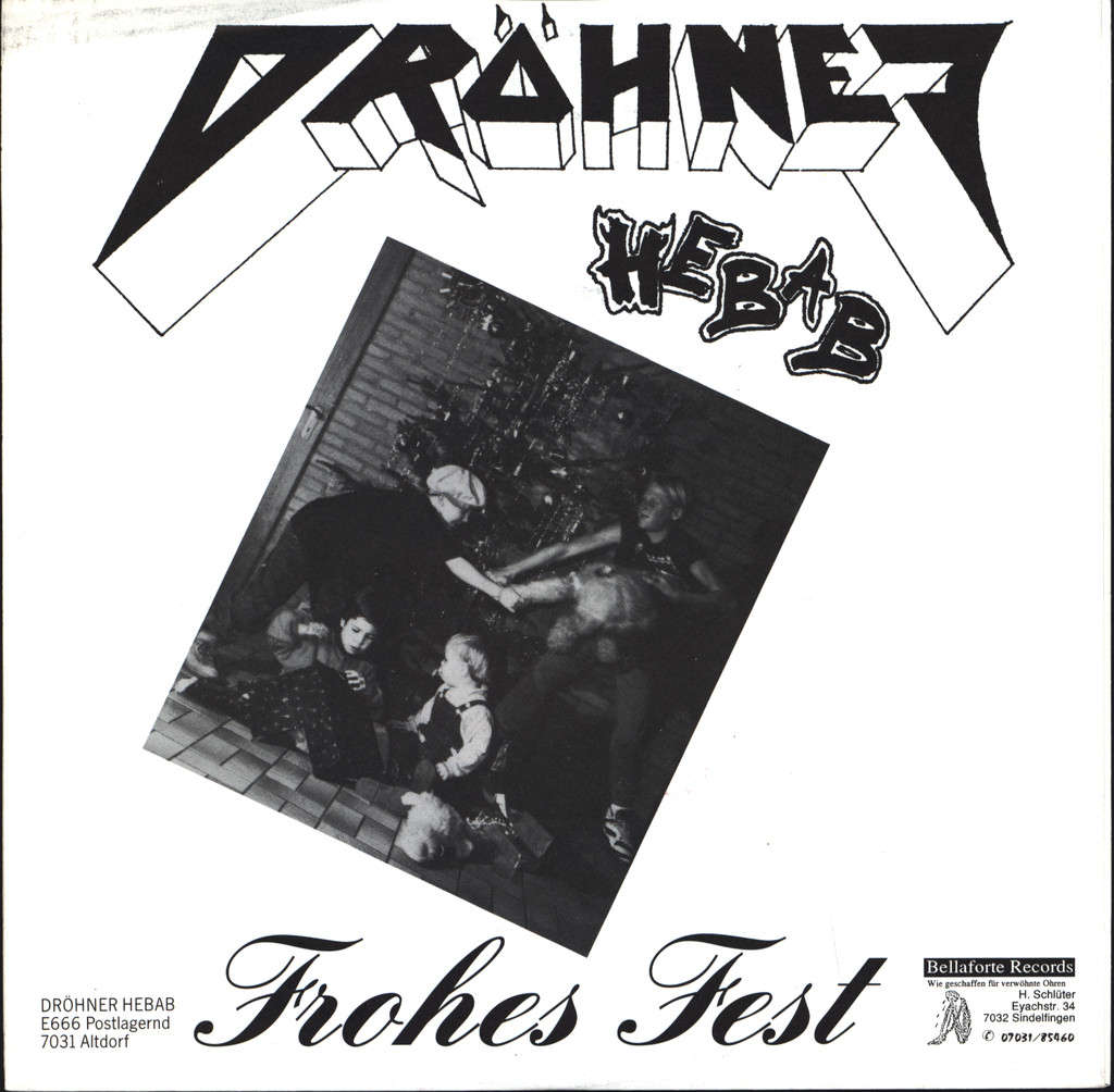 "Dröhner Hebab: Nadel, 7"" Single (Vinyl)"