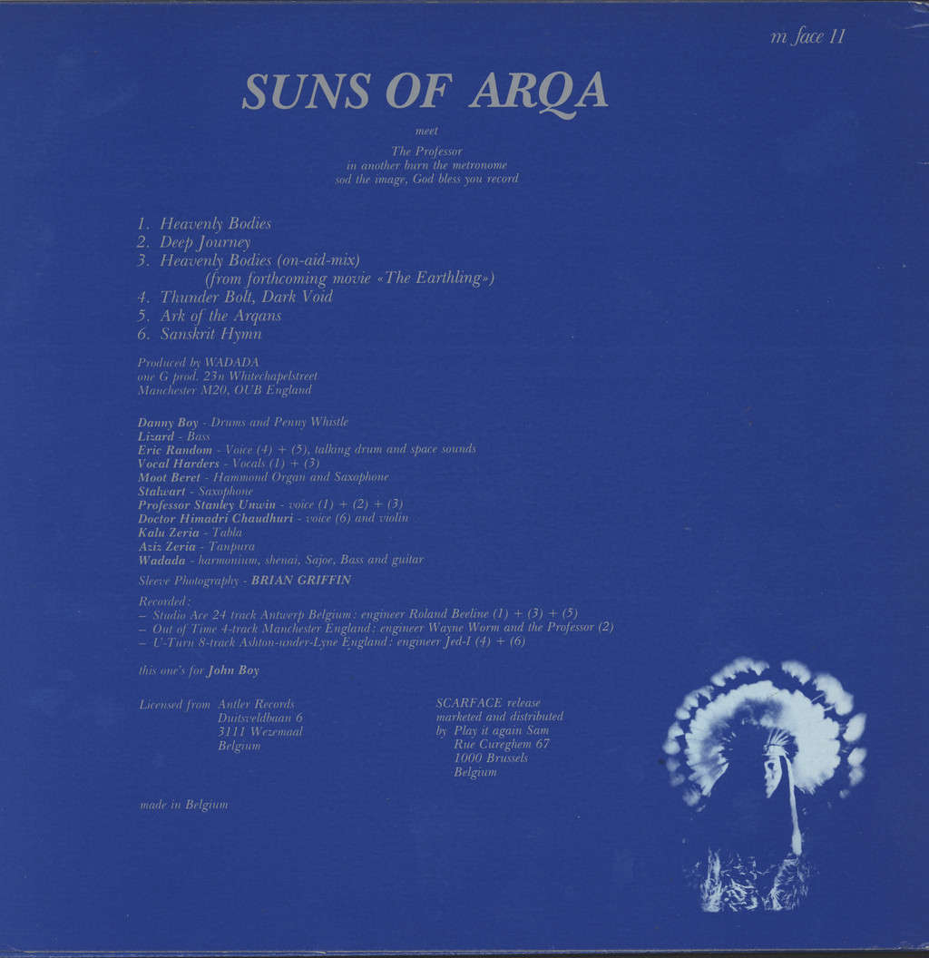Suns Of Arqa: Ark Of The Arqans, Heaven And Hell And Other Strange Faces Vol. 5, Mini LP (Vinyl)