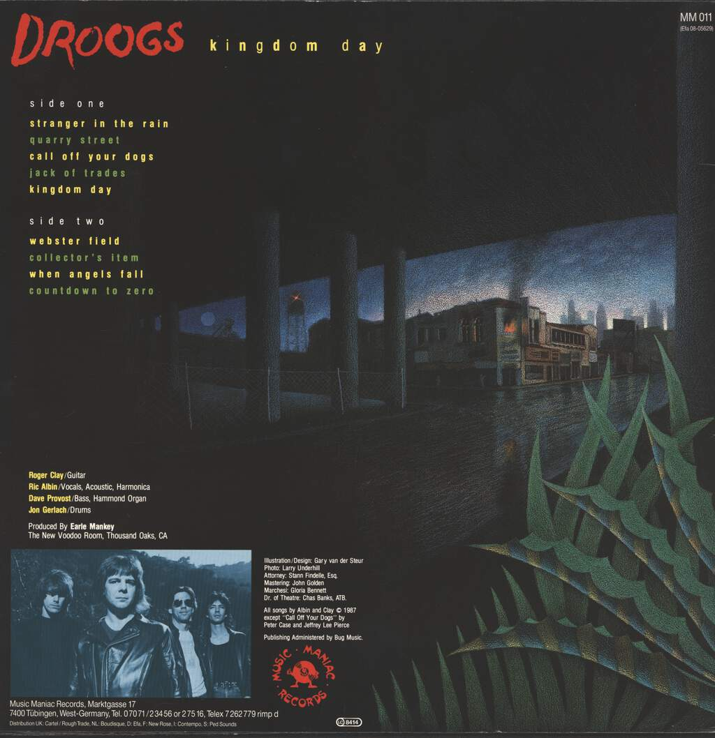 Droogs: Kingdom Day, LP (Vinyl)