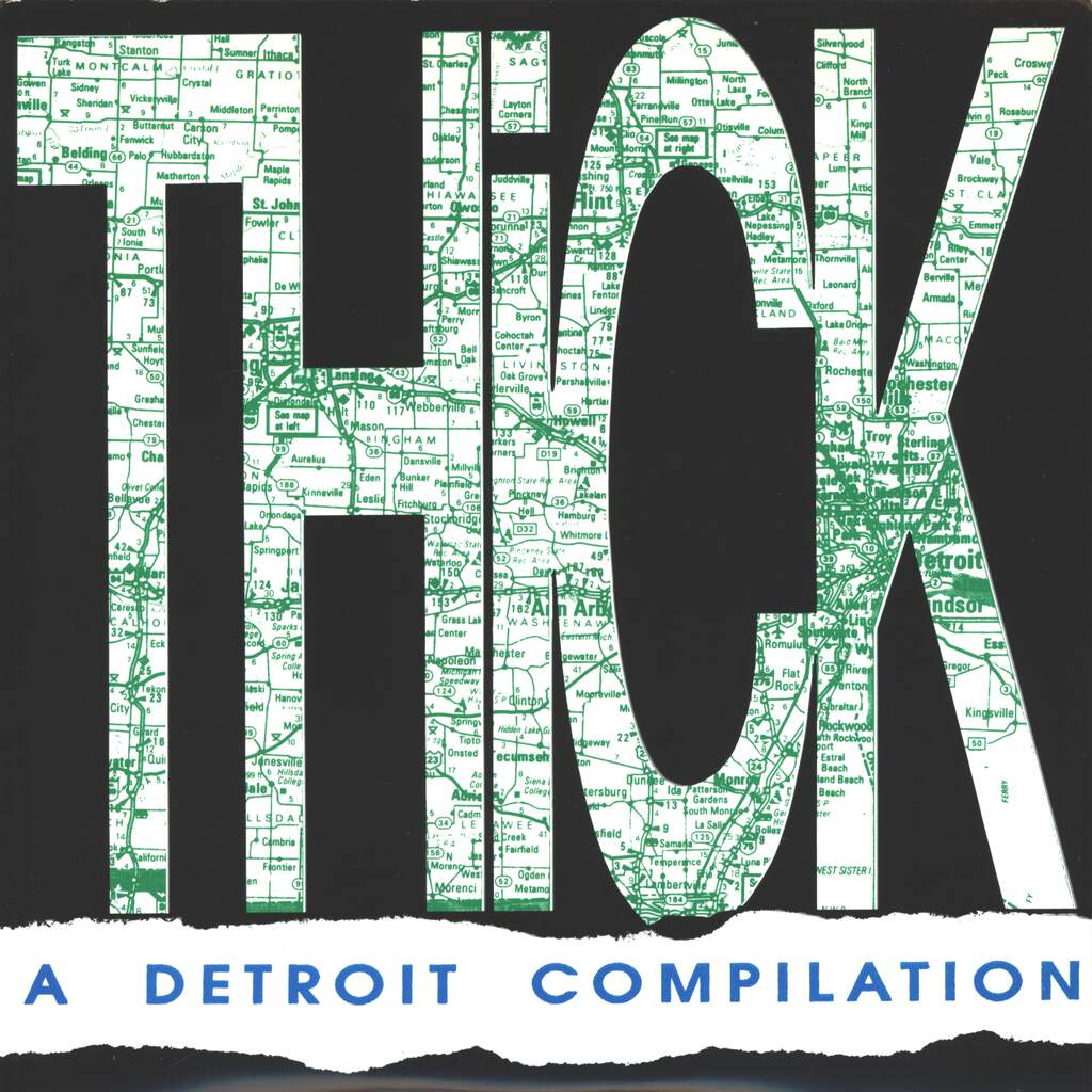 "Various: Thick - A Detroit Compilation, 7"" Single (Vinyl)"