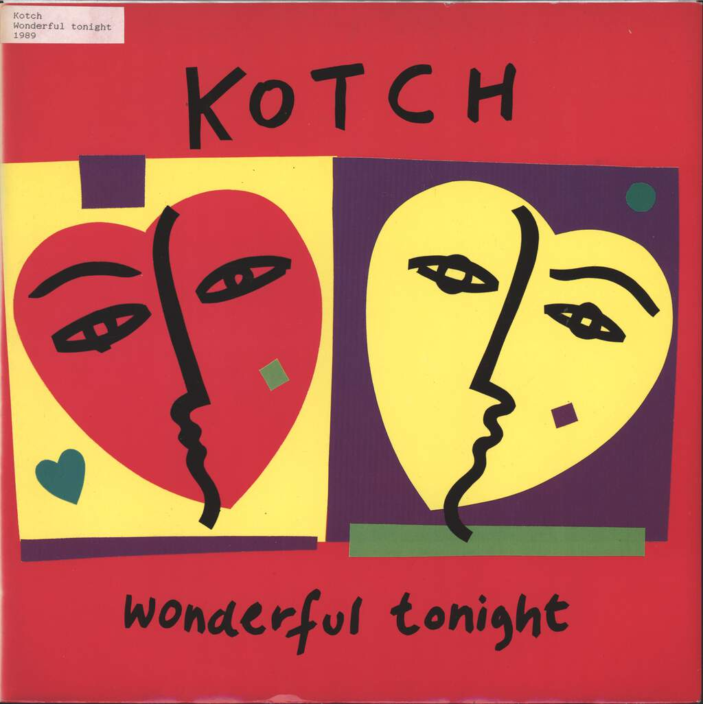 "Kotch: Wonderful Tonight., 12"" Maxi Single (Vinyl)"