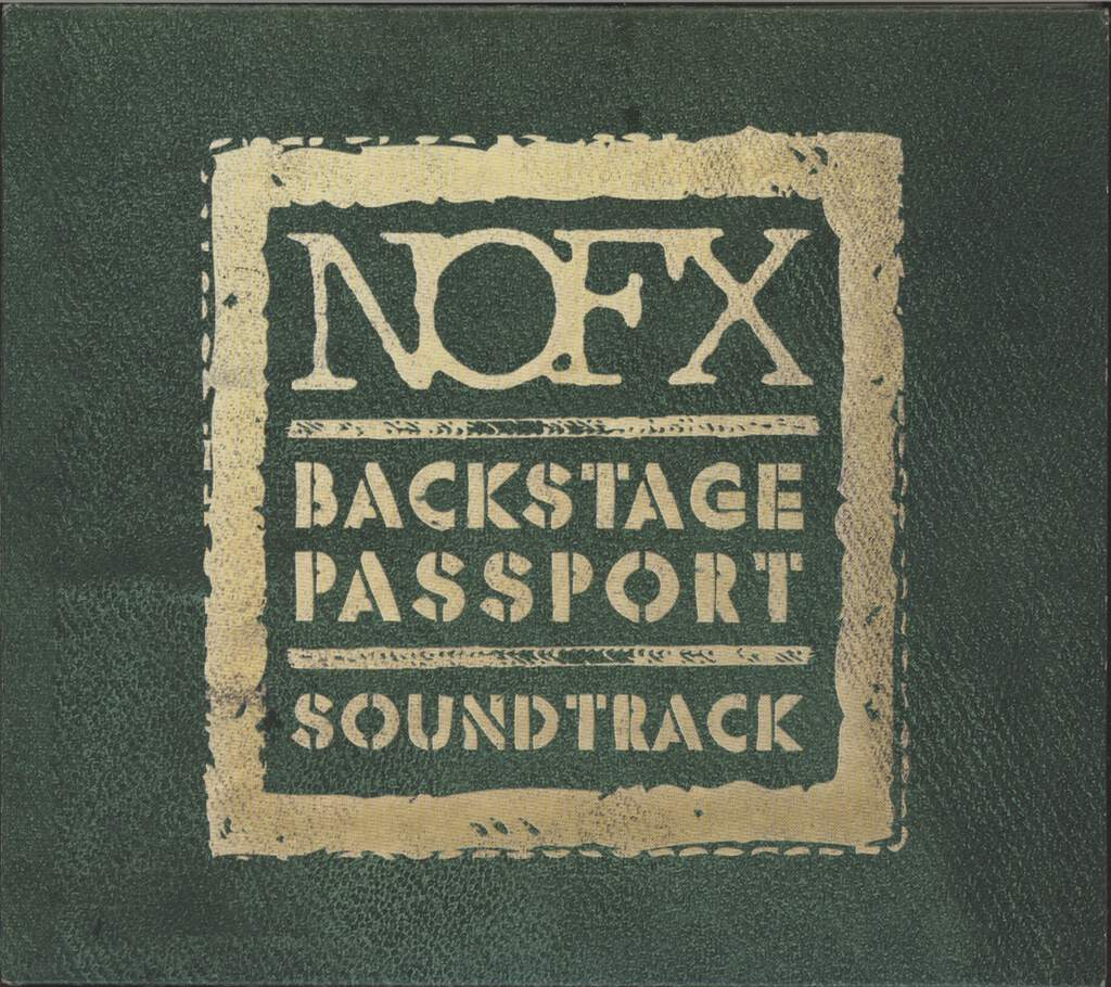 NOFX: Backstage Passport Soundtrack, CD