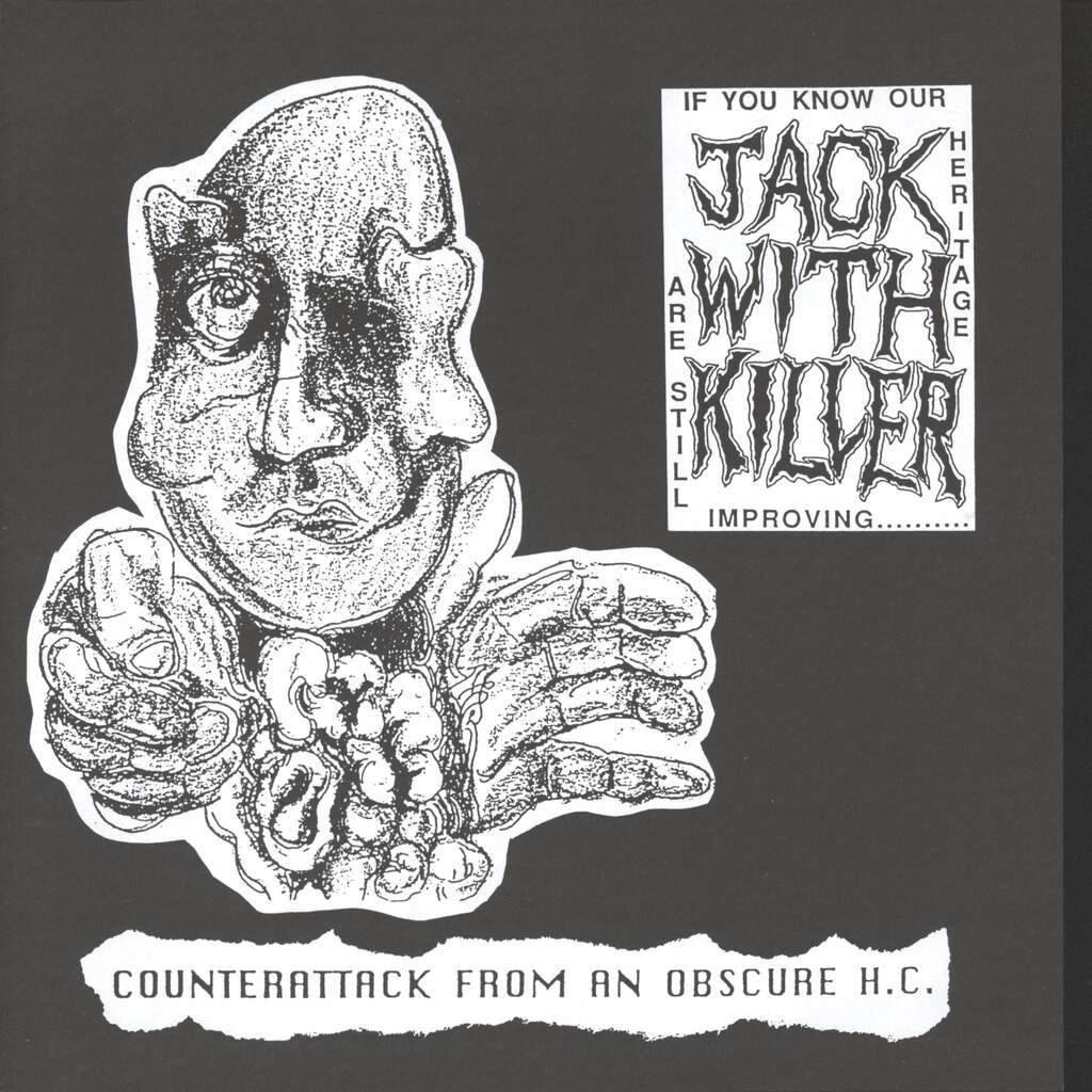 "Jack With Killer: Counterattack From An Obscure H.C., 7"" Single (Vinyl)"