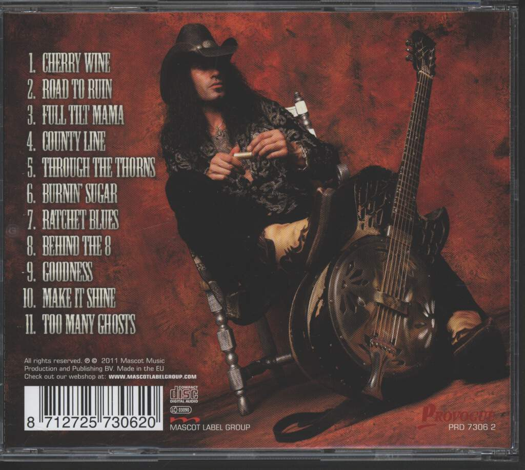 Eric Sardinas And Big Motor: Sticks & Stones, CD
