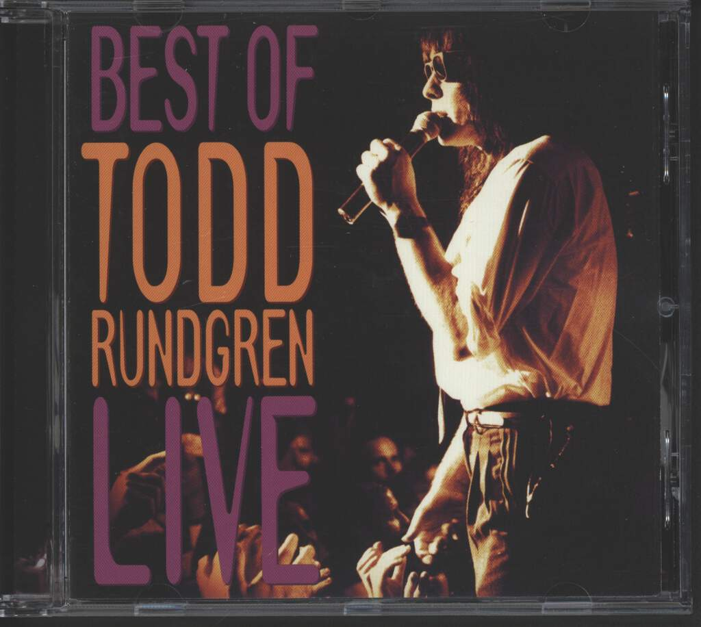 Todd Rundgren: Best Of Todd Rundgren Live, CD