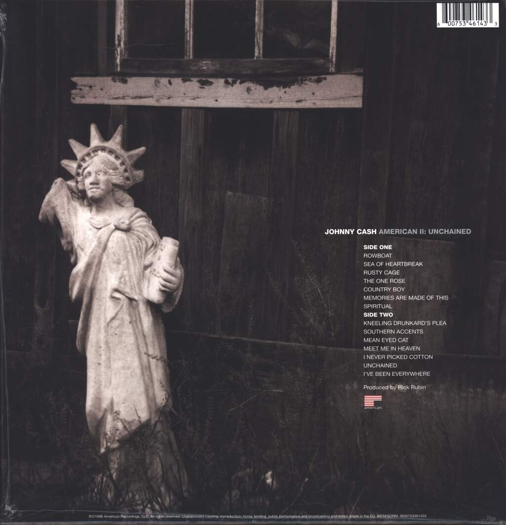 Johnny Cash: American II: Unchained, LP (Vinyl)