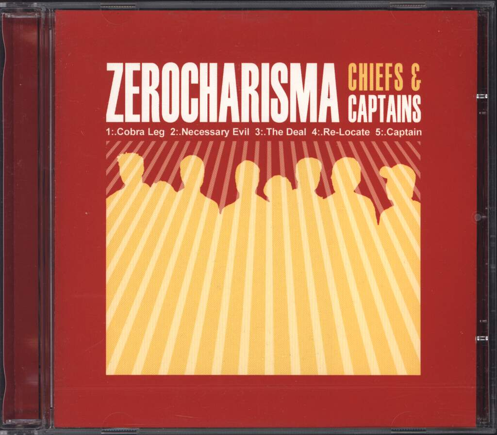Zerocharisma: Chiefs & Captains, Mini CD