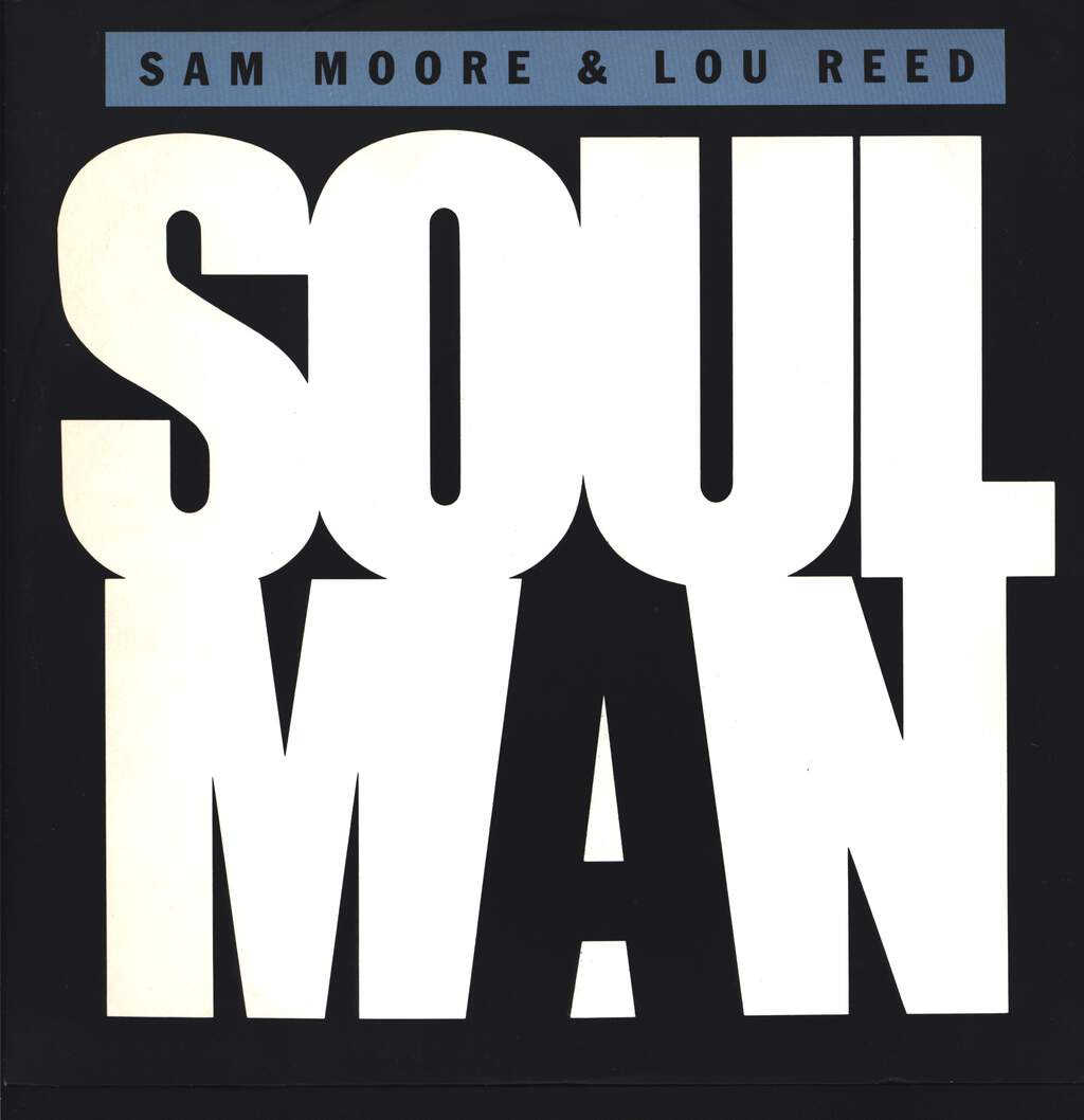 "Sam Moore: Soul Man / Sweet Sarah, 12"" Maxi Single (Vinyl)"