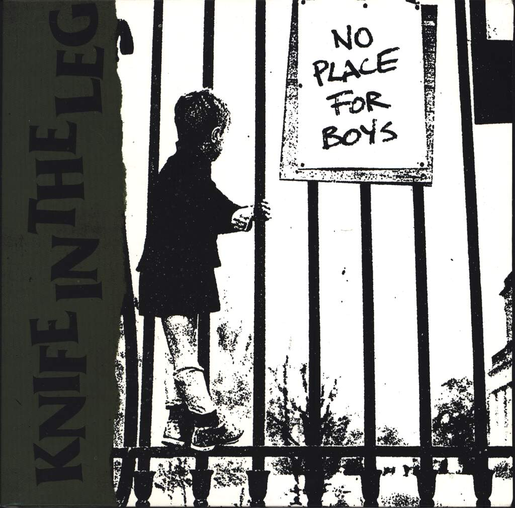 "Knife In The Leg: No Place For Boys, 7"" Single (Vinyl)"