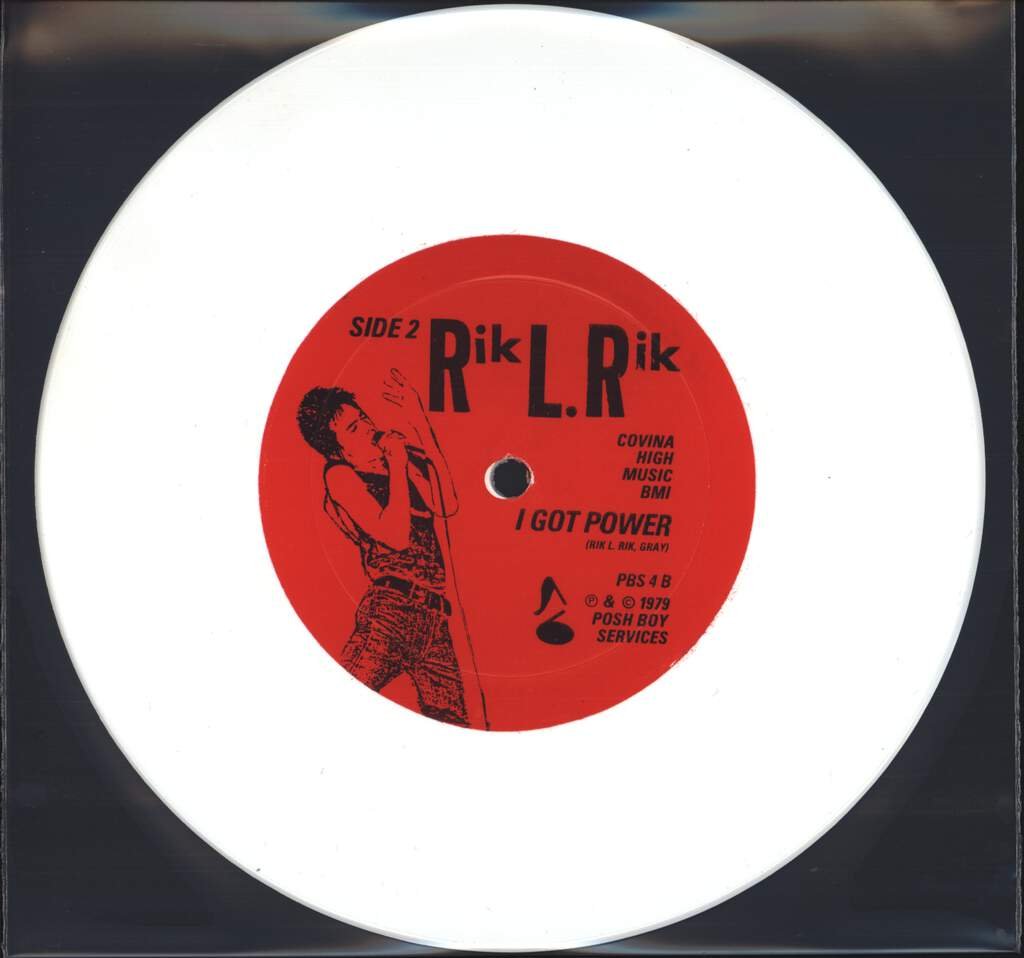 "Rik L Rik: Meat House / I Got Power, 7"" Single (Vinyl)"