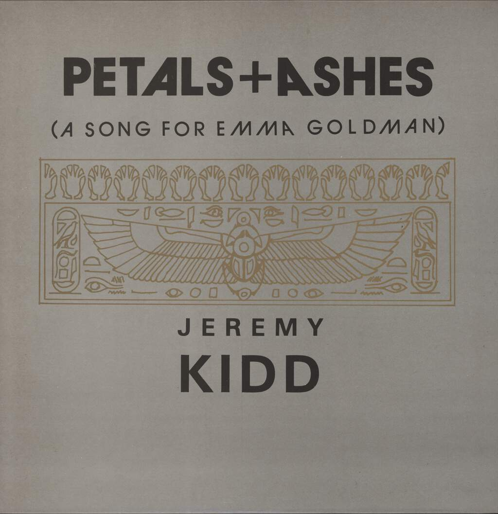 "Jeremy Kidd: Petals + Ashes (A Song For Emma Goldman), 12"" Maxi Single (Vinyl)"
