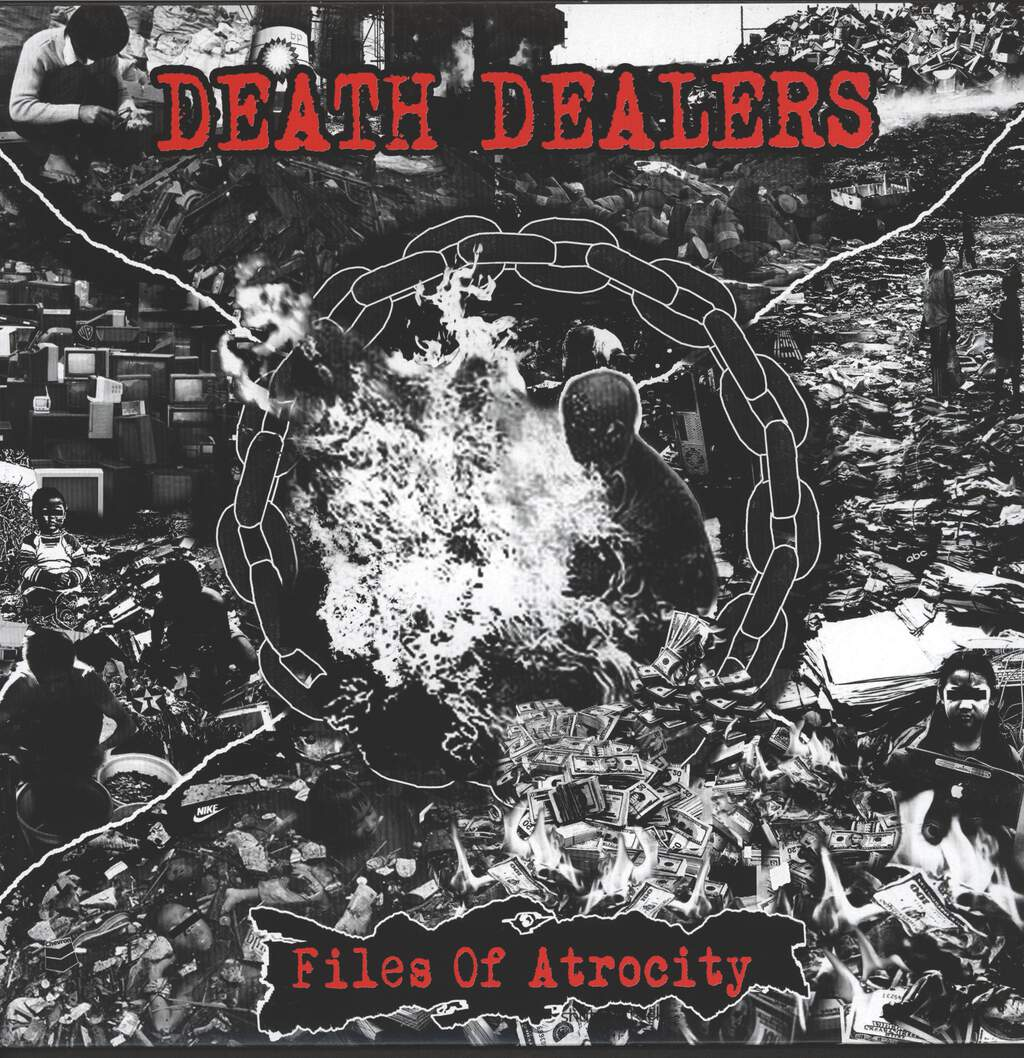 Death Dealers: Files Of Atrocity, LP (Vinyl)
