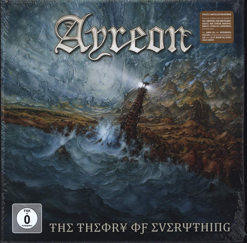 Ayreon: The Theory Of Everything (Limited Deluxe Edition)