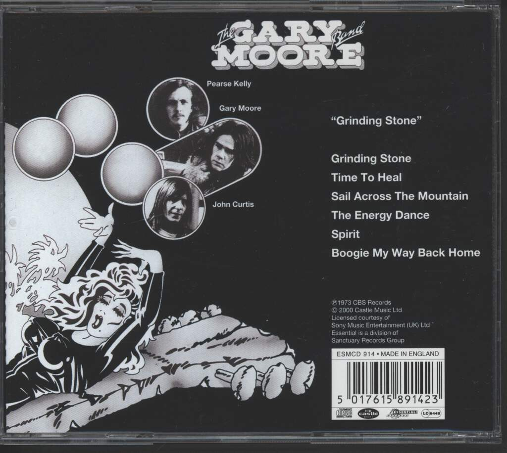 Gary Moore Band: Grinding Stone, CD