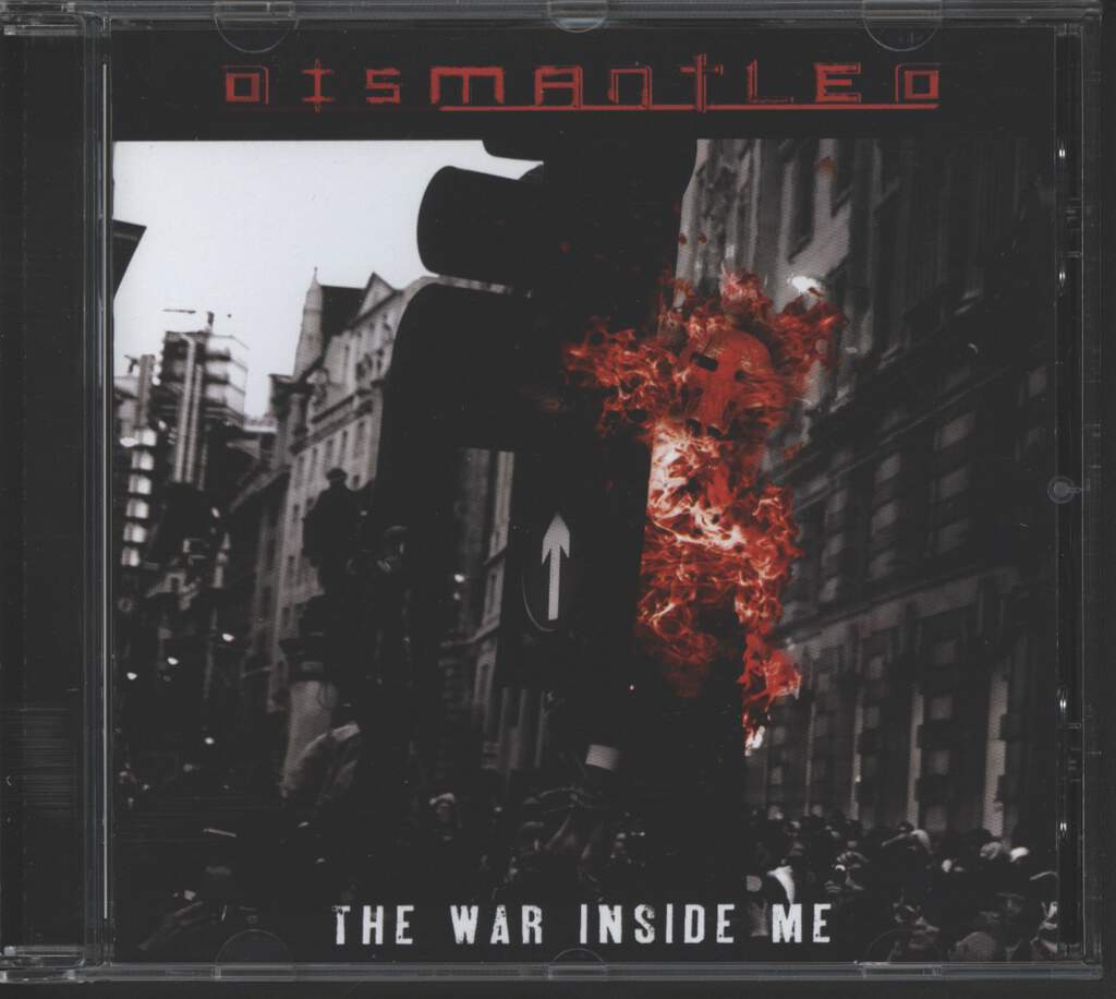 Dismantled: The War Inside Me, CD