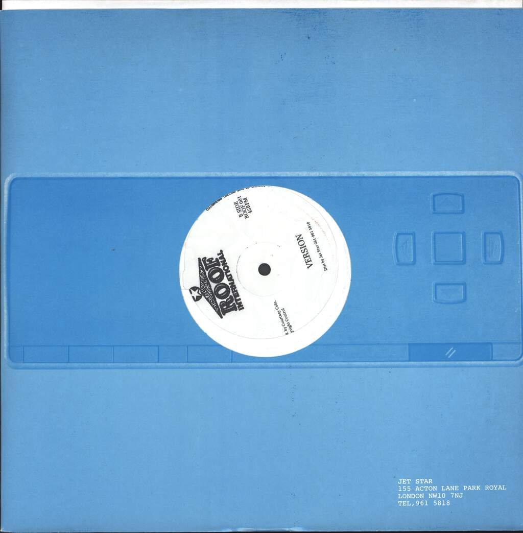 "Cutty Ranks: A Who Say Me Done, 12"" Maxi Single (Vinyl)"