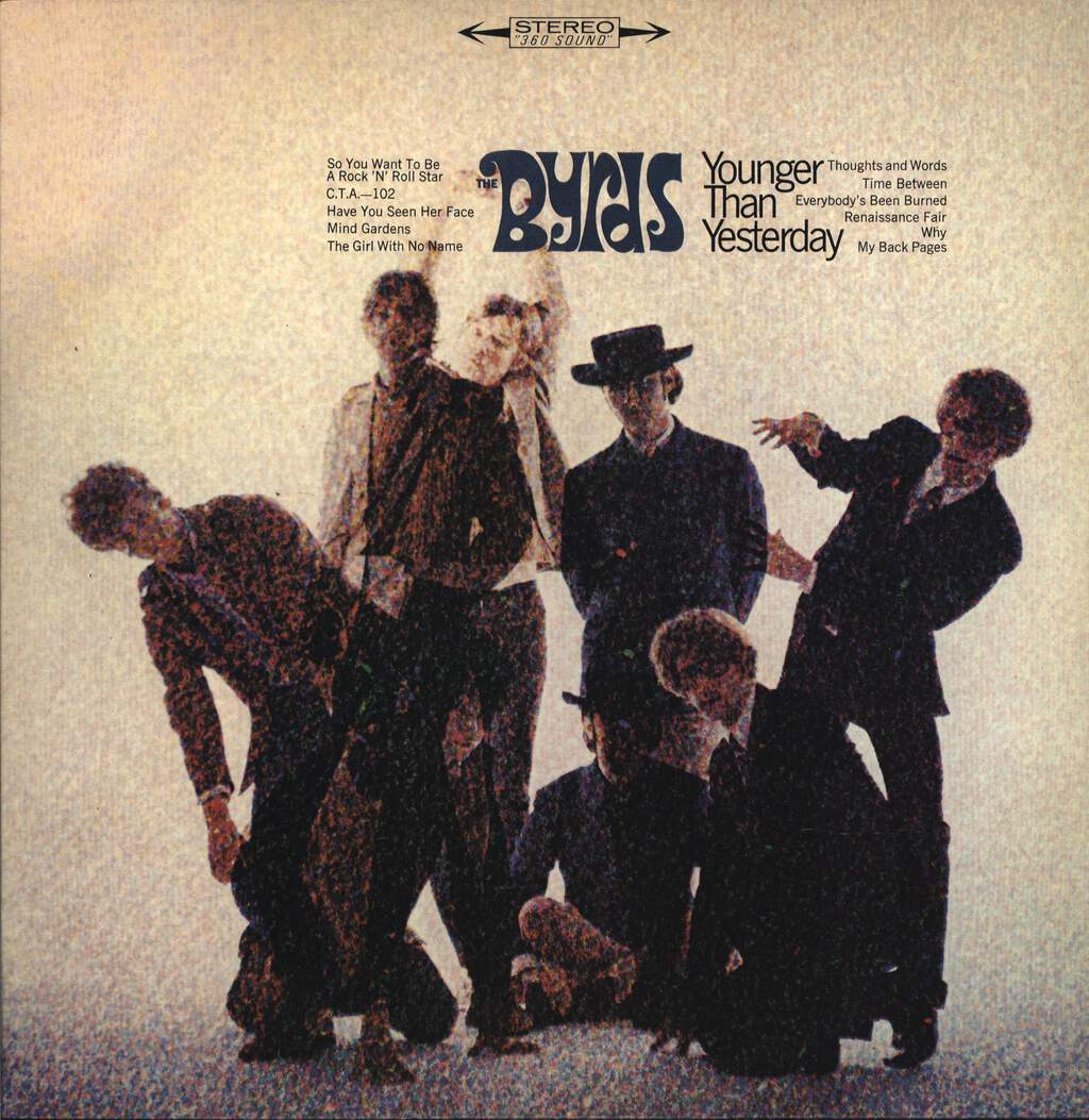 Byrds: Younger Than Yesterday, LP (Vinyl)