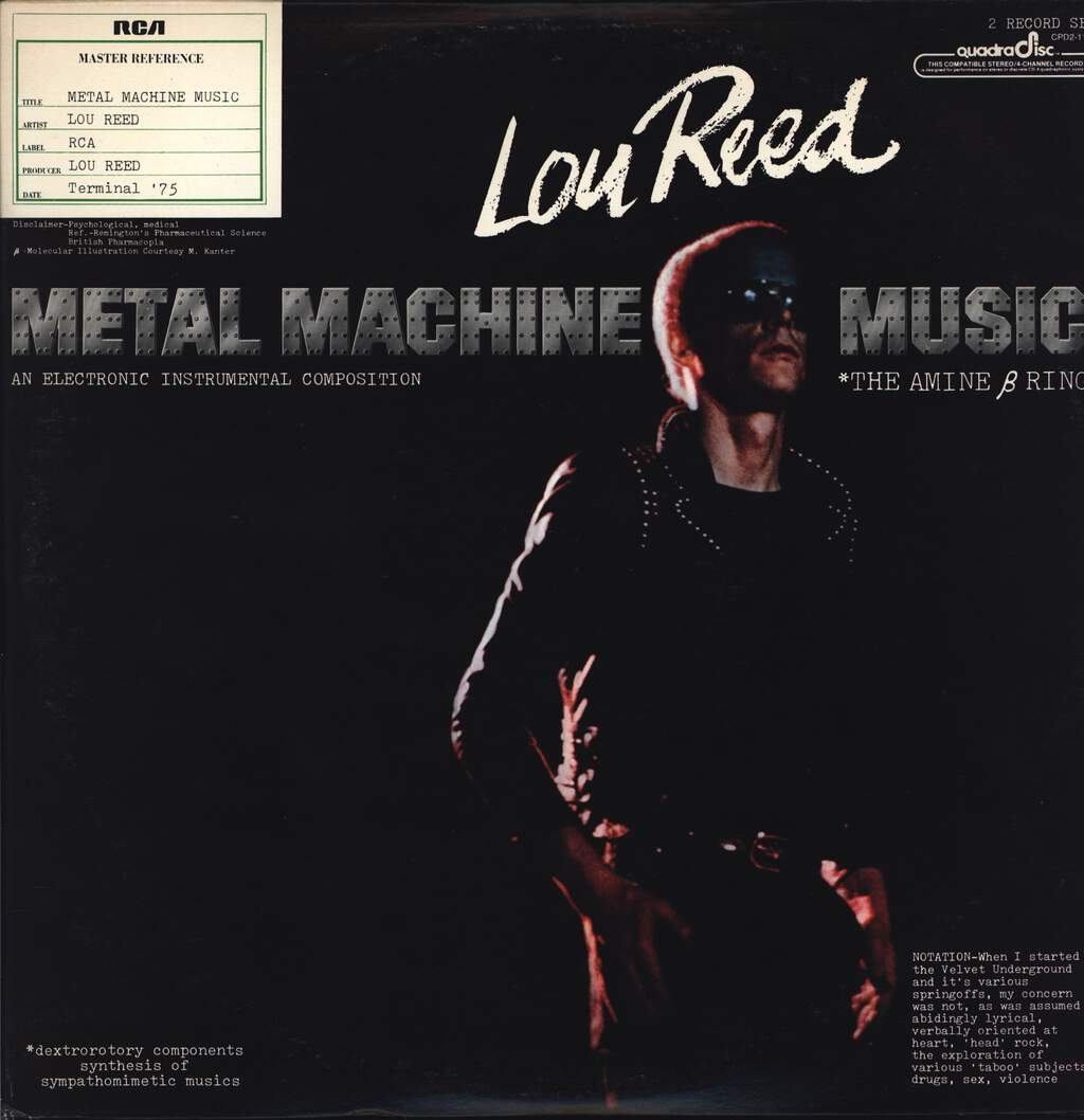 Lou Reed: Metal Machine Music, LP (Vinyl)