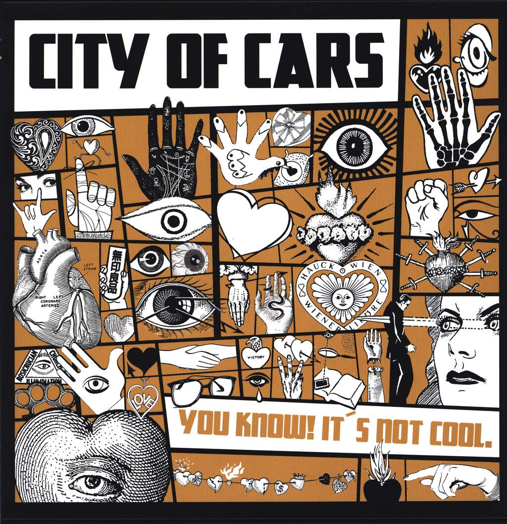 "City Of Cars: You Know! It's Not Cool., 12"" Maxi Single (Vinyl)"