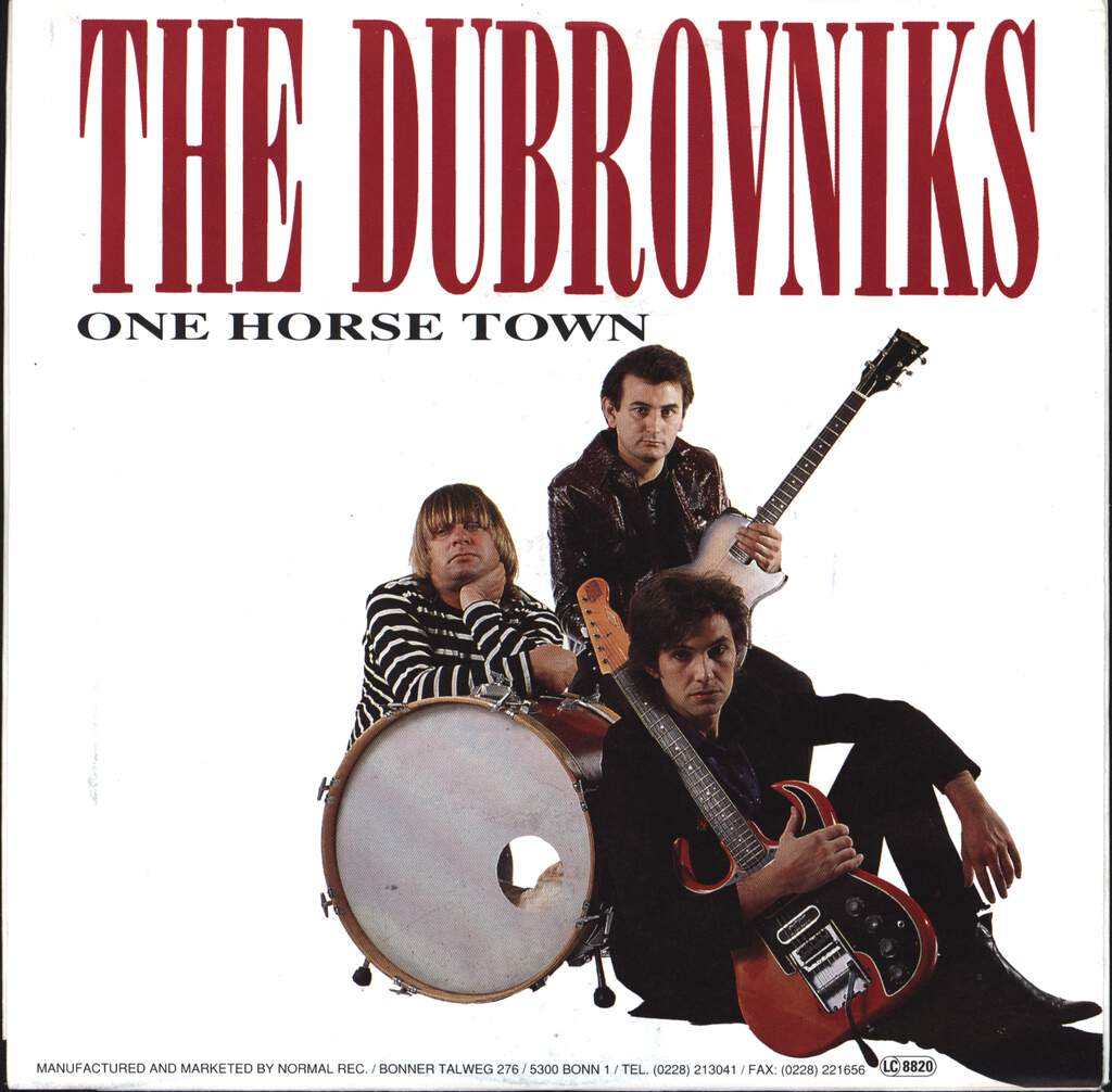 "Dubrovniks: One Horse Town / Speedway Girls, 7"" Single (Vinyl)"