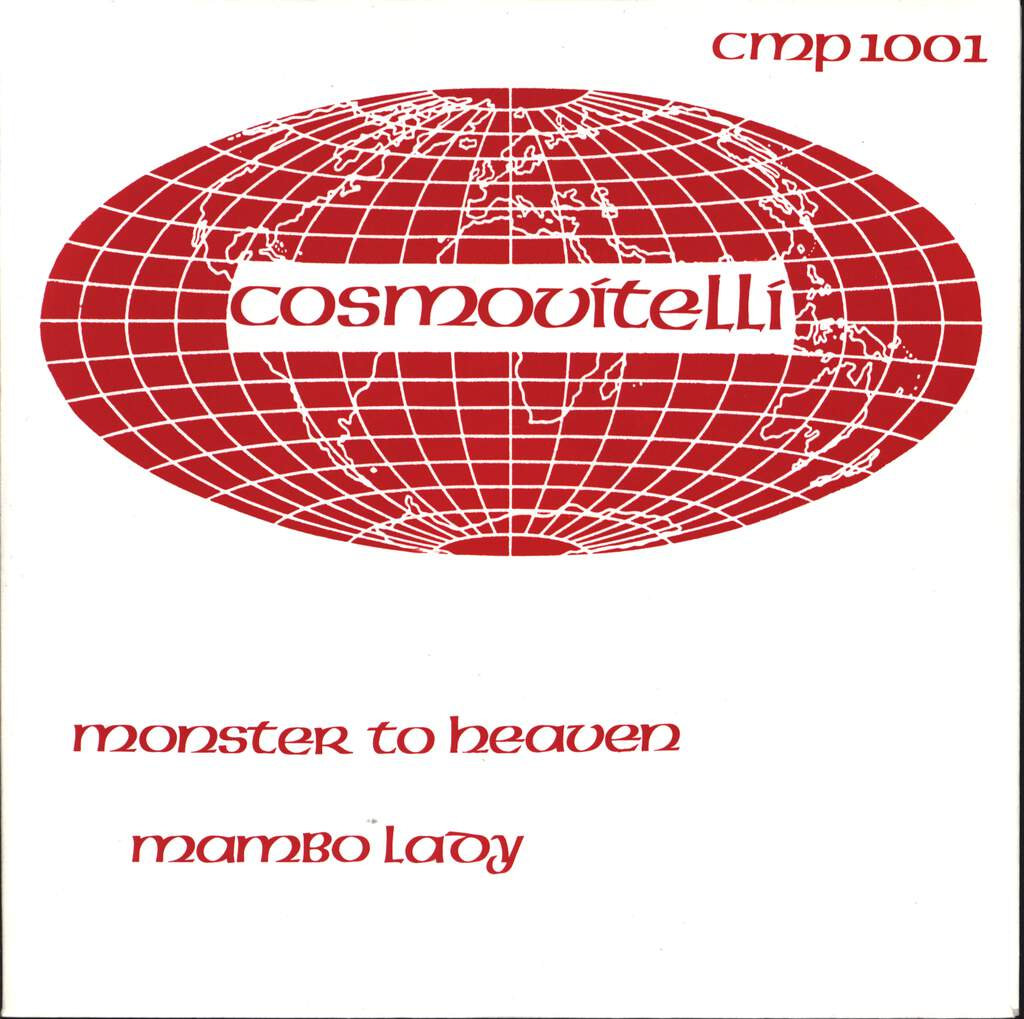 "Cosmovitelli: Monster To Heaven / Mambo Lady, 7"" Single (Vinyl)"