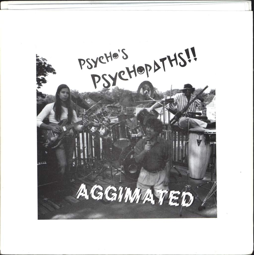 "Psycho's Psychopaths: Aggimated / Mr. Harris, 7"" Single (Vinyl)"