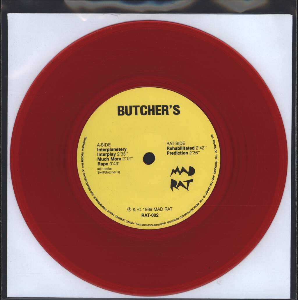 "Butchers: Butcher's, 7"" Single (Vinyl)"