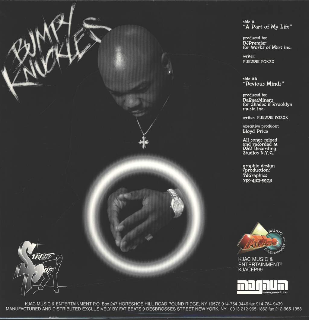 "Bumpy Knuckles: A Part Of My Life / Devious Minds, 12"" Maxi Single (Vinyl)"