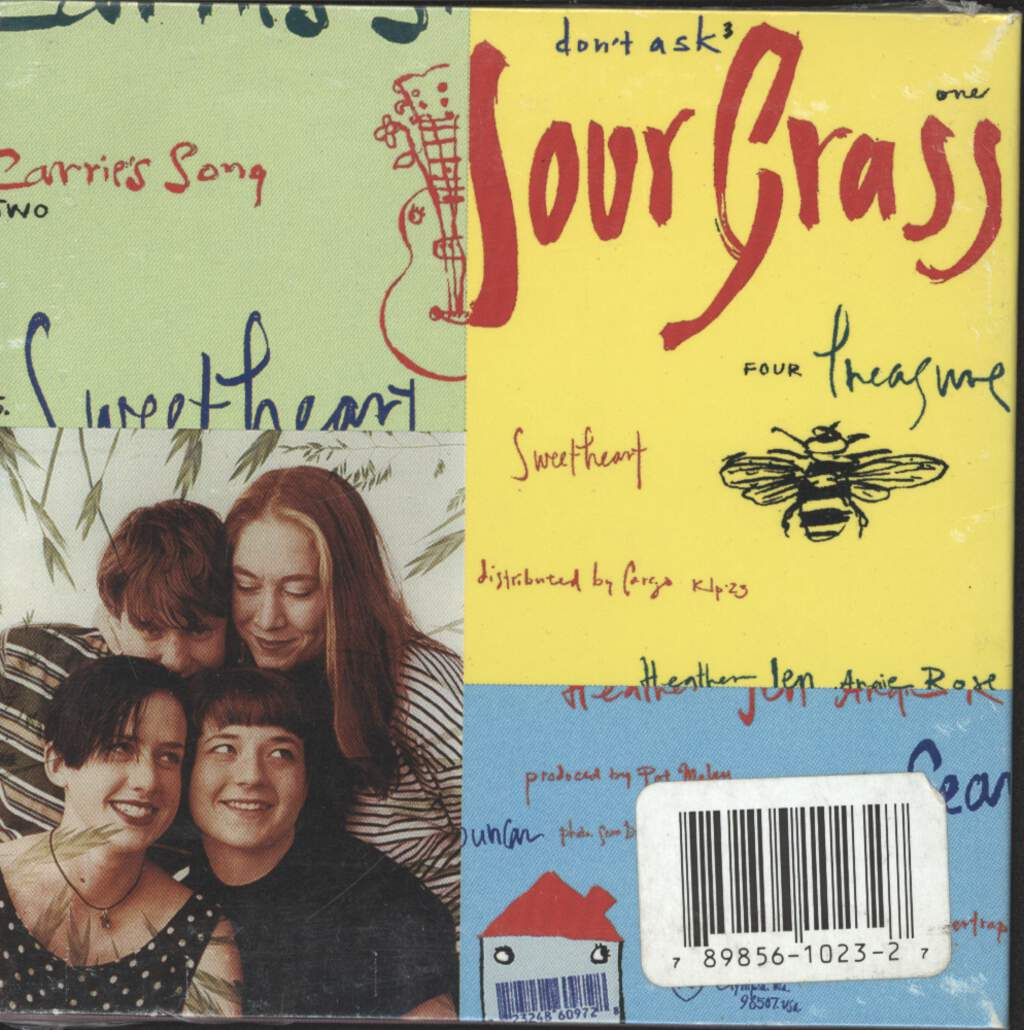 Tiger Trap: Sour Grass, Mini CD