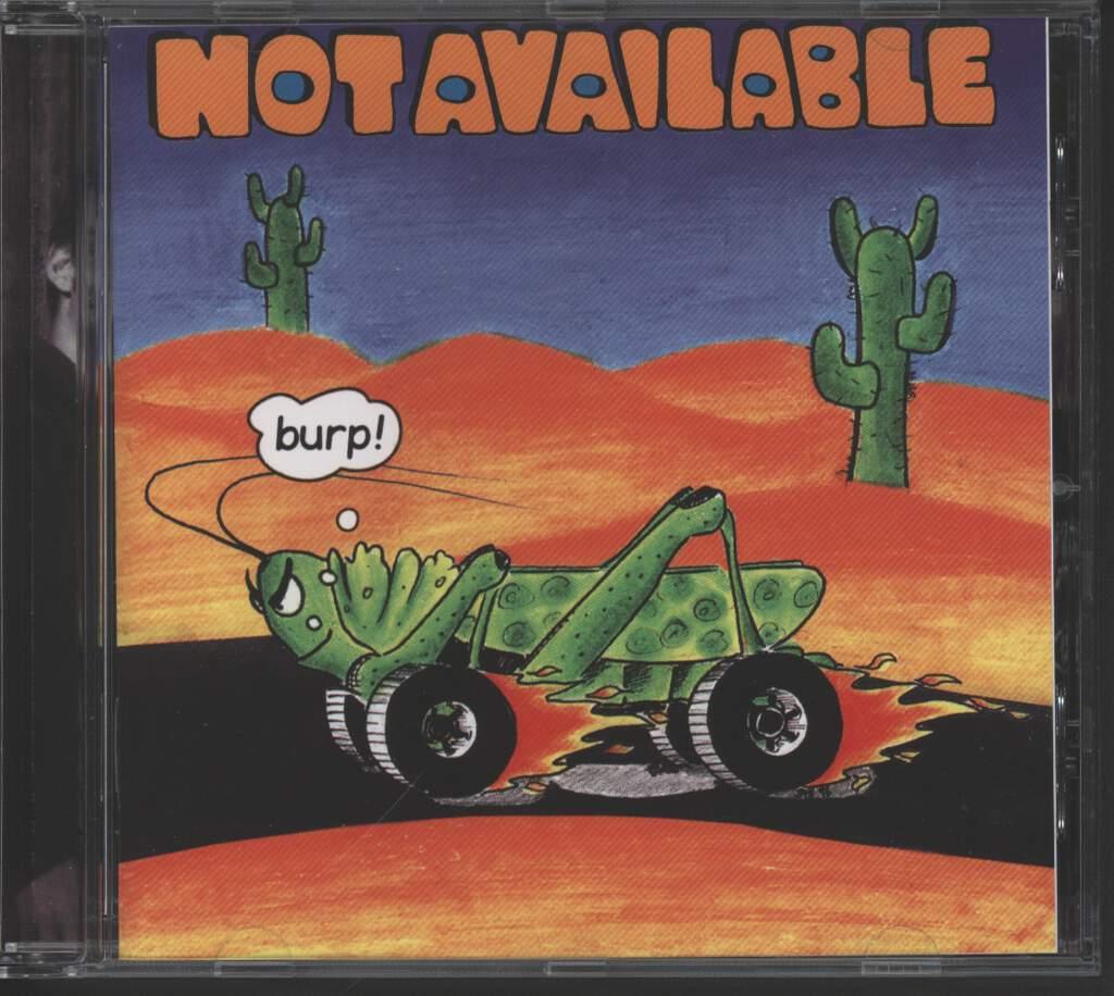 Not Available: Burp!, Mini CD
