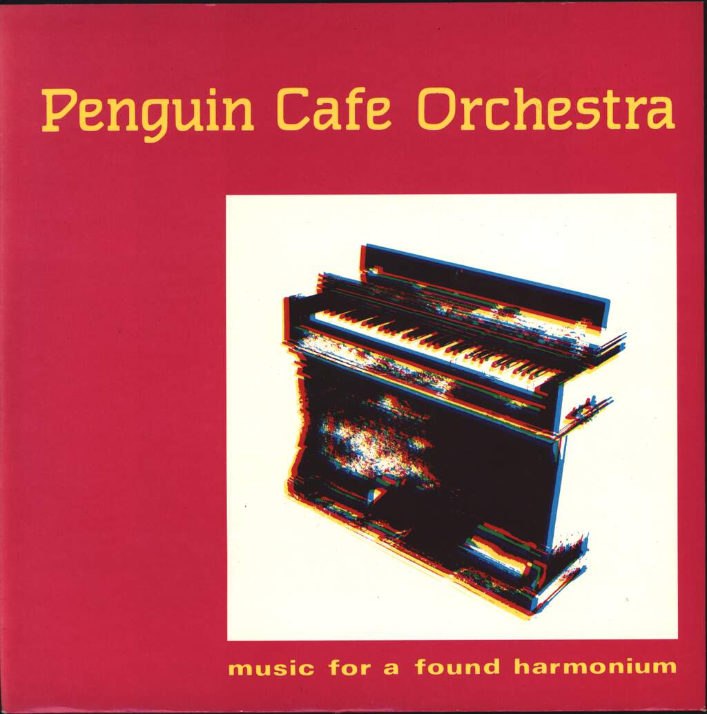 "Penguin Cafe Orchestra: Music For A Found Harmonium / Air A Danser, 7"" Single (Vinyl)"