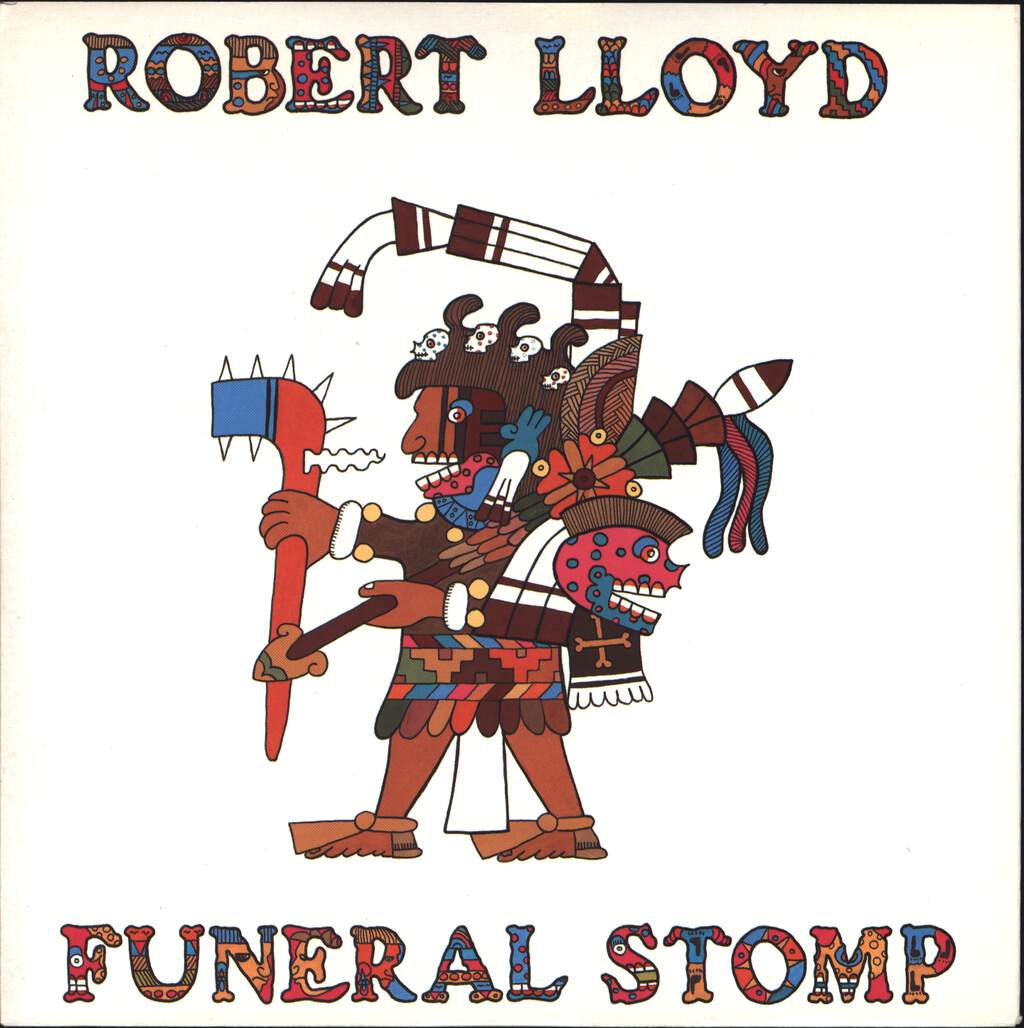 "Robert Lloyd: Funeral Stomp, 7"" Single (Vinyl)"