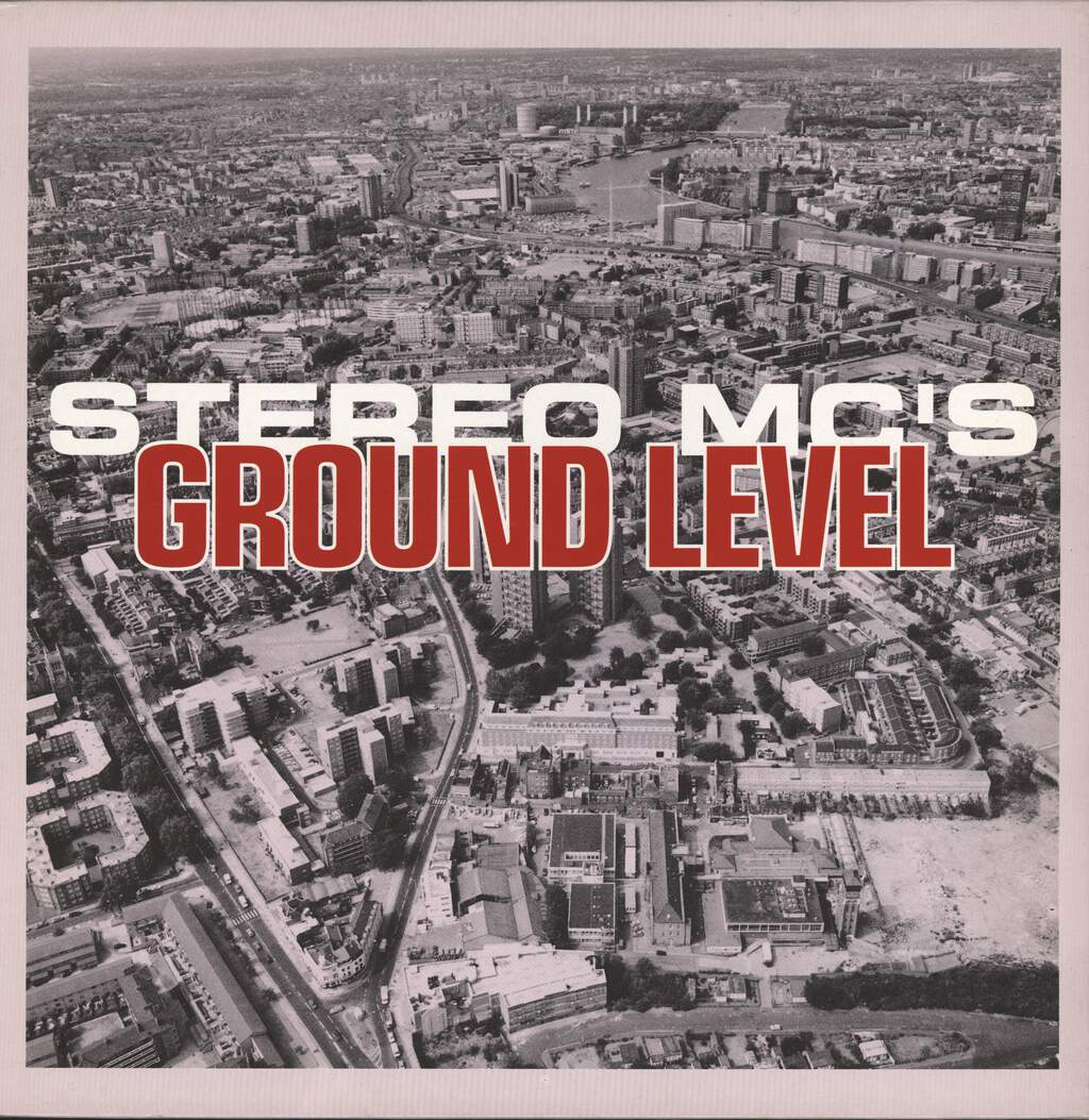 "Stereo MC's: Ground Level, 12"" Maxi Single (Vinyl)"